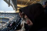 In the Yankee Stadium