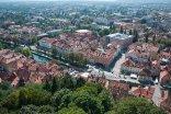 Ljubljana, from Ljubljana Grad
