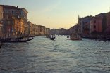 Last light on the Canal Grande